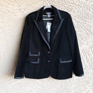 GEORGE ✨NWT✨ Velvet Blazer Career Jacket